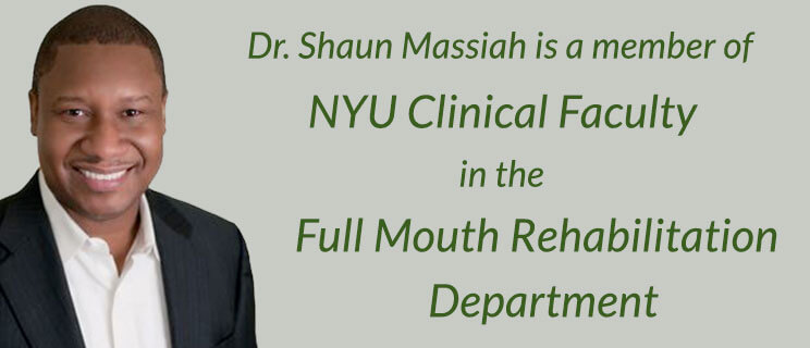 Dr. Messiah with words indicating he's a member of NYU Clinical Faculty